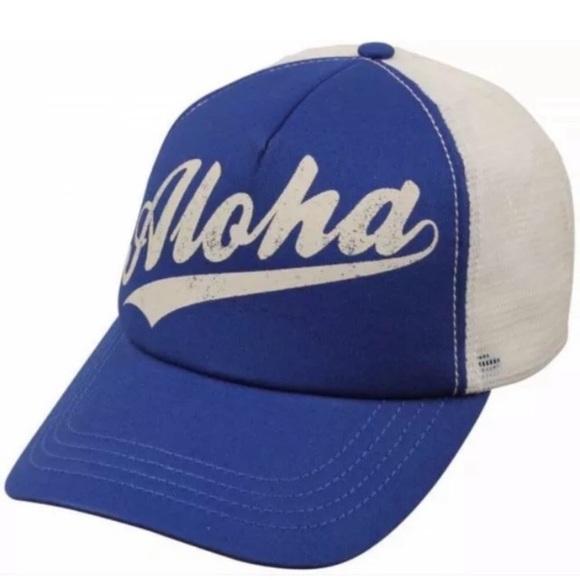 fff764b4f72c31 Billabong Accessories | Nwt Aloha Forever Trucker Hat | Poshmark
